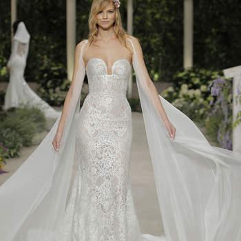 Kleid von Pronovias, Credits: Barcelona Bridal Fashion Week