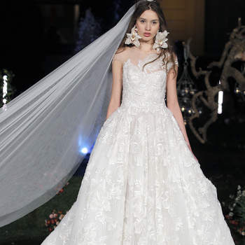 Marchesa. Créditos: Barcelona Bridal Fashion Week