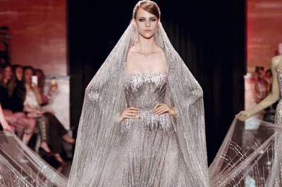 Vestidos alta costura de Elie Saab otoño 2013