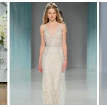 Ein Brautkleid mit V-Ausschnitt: Diese Designs sind einfach hinreißend