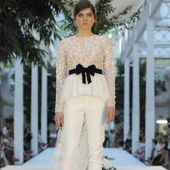 Alicia Rueda. Credits: Barcelona Bridal Fashion Week