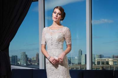 Feel classic and glamorous with the Justin Alexander Signature Collection 2014