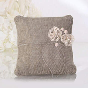 Porta Anillos De Boda Country Chic- Compra en The Wedding Shop