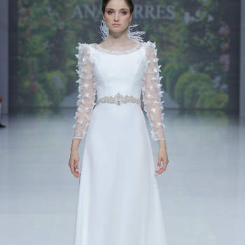 Ana Torres. Credits_ Barcelona Bridal Fashion Week