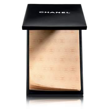 Papeles matificantes. Los aplicas sobre el rostro y desaparecen los brillos manteniendo intacto el maquillaje. Chanel