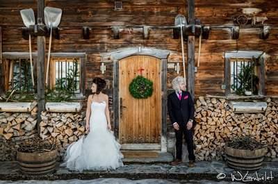 Un mariage chaleureux et romantique… En Hiver !