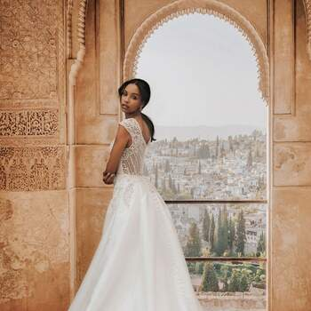 Jasmine by Allure Bridals | Credits: Disney