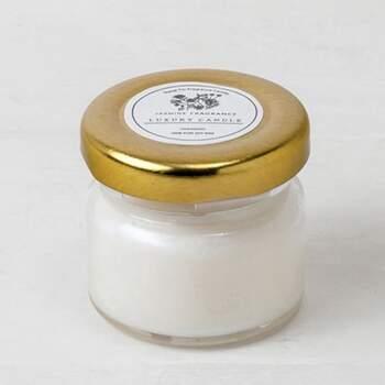 Bougie Parfumée Dans Un Pot 6 Pièces - The Wedding Shop