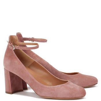 Chaussures de mariée roses Janey, Pura López