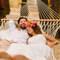 Ślub w stylu karaibskim. Egzotyczna para młoda.