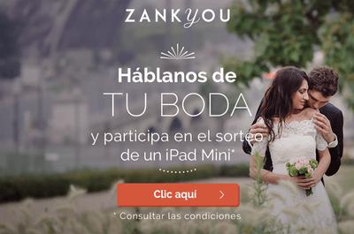 ¡Gana un iPad mini! Bastará con hablarnos sobre tu boda