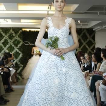 Robe de mariée collection Printemps 2013 - Crédit photo: Oscar de la Renta