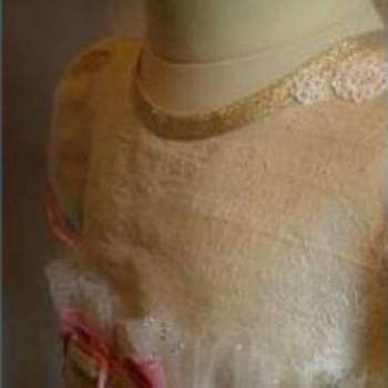 Mafalda C. : Création Couture pour Enfant Robe baptême détail