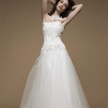Robe de mariée Elsa Gary 2013, modèle Mistral. Photo: Elsa Gary