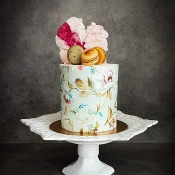 Já lhe dissemos que os bolos de casamento estão cada vez mais originais? | Créditos: Açúcar À La Carte