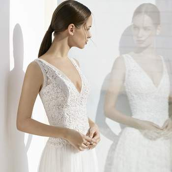 Robe de mariée Rosa Clara - Modèle Kesava