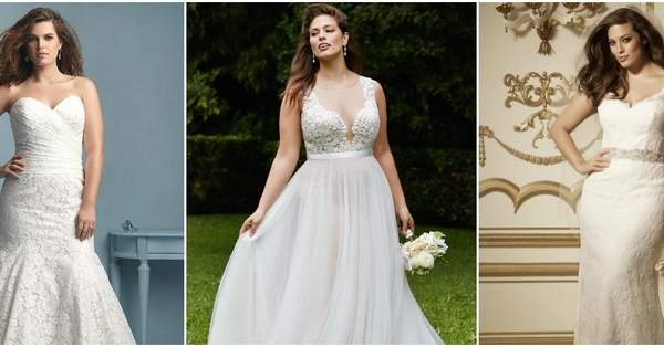 f7ee0b957 Tallas L y XL en vestidos de novia 2016. ¡Para mujeres que sí tienen curvas!