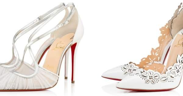 d55259e6 Zapatos de novia Christian Louboutin 2017: 14 diseños de ensueño que pueden  ser tuyos