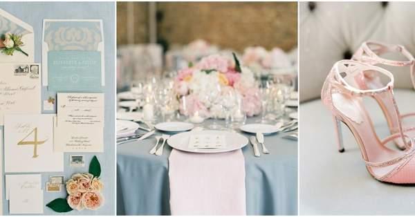 Matrimonio Rosa Quarzo E Azzurro Serenity : Azzurro serenity e rosa quarzo i colori del per decorare le