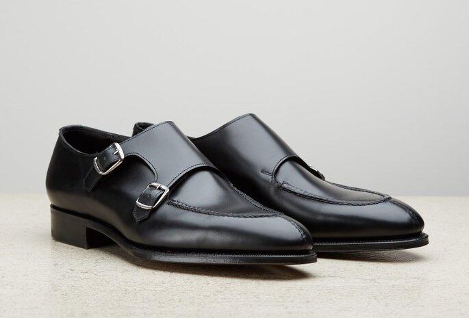 Zapato para novio modelo Monkstrap