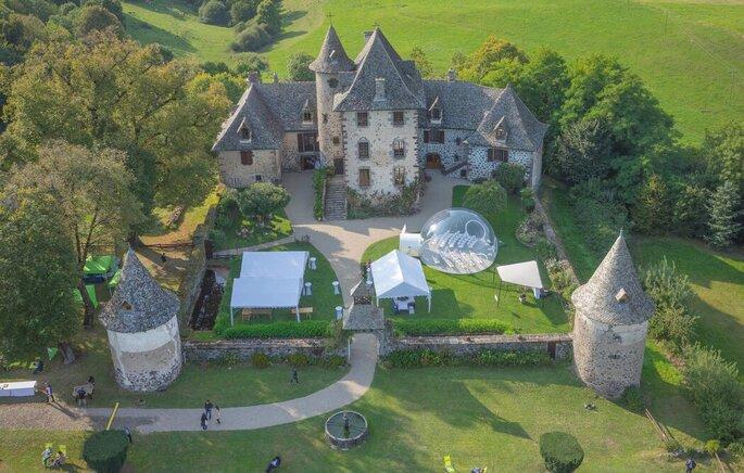 Le Château de Vixouze - Lieu de réception de mariage - Cantal