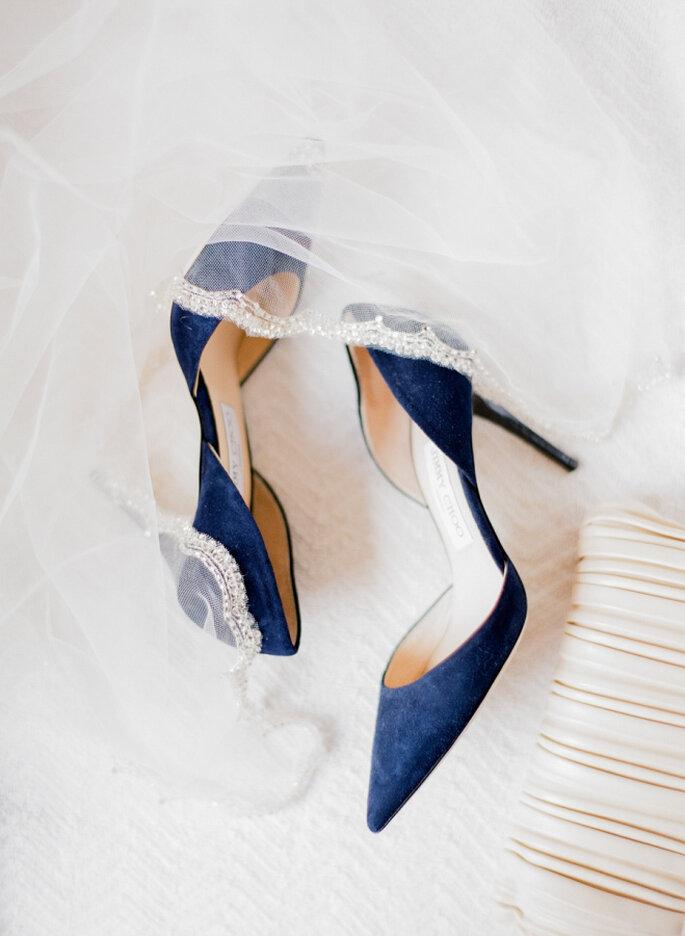 decoración azul marino - Jordan Brittley