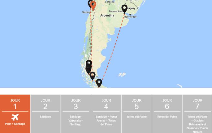 Photo : circuit 2 Patagonie sans frontières