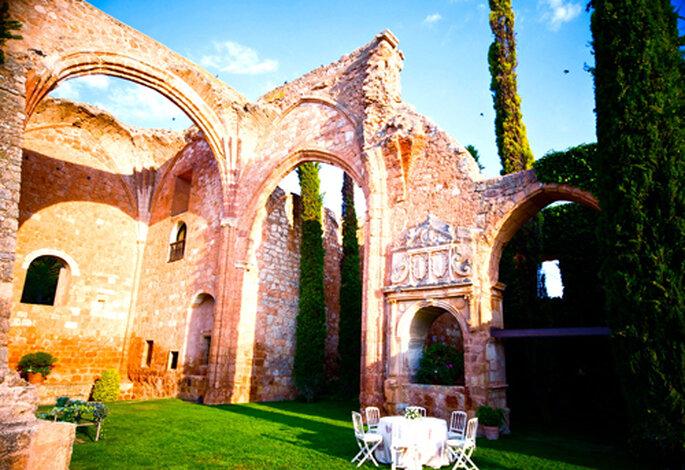 Los Claustros de Ayllón, mariage romantique