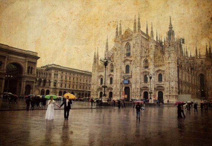 Boda y lluvia. Fotografía Natalia Chmielowiec