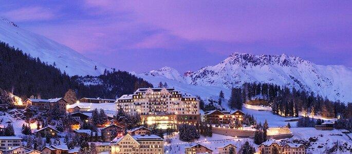Hotel: Carlton Hotel St. Moritz - Foto Divulgação.