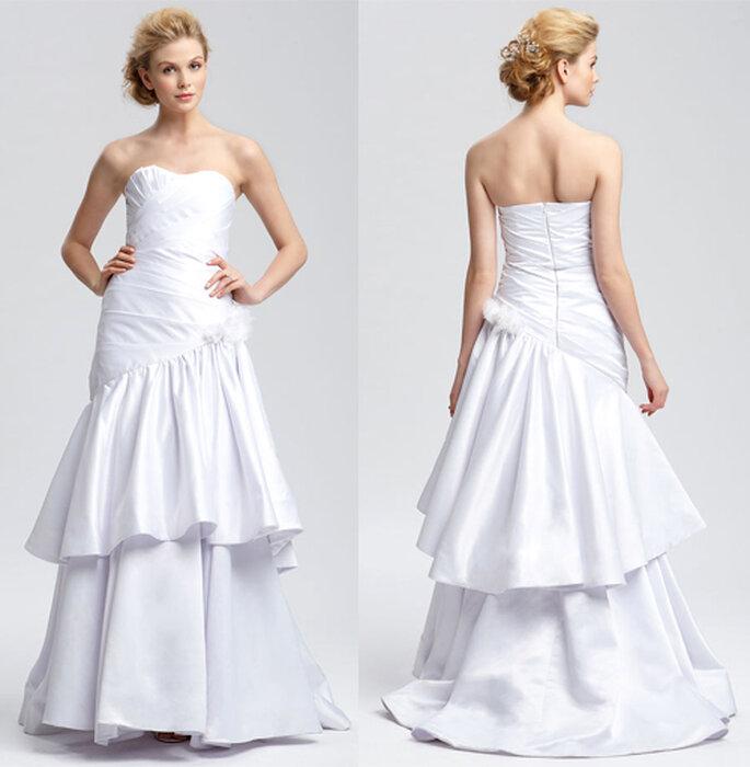 Vestido de novia diseñado por Christian Siriano - Foto: Nordstrom