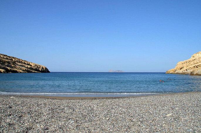 Kristallklares Wasser und romantsiche Buchten auf Kreata - Foto: Silvain de Munck auf flickr.com