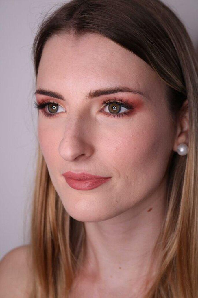 Noiva maquilhada por Daniela Costa Makeup Artist
