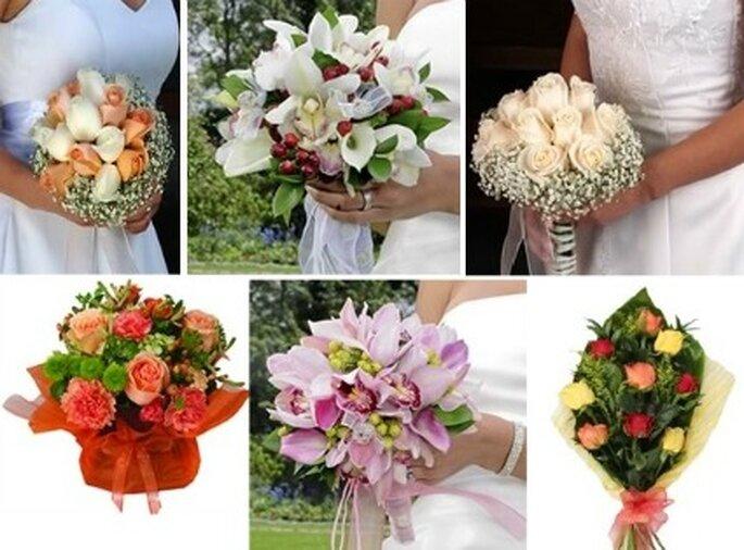 Bouquet  para novia    fotos: Mundo Floral
