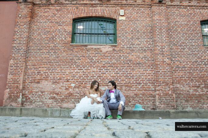Lo último en bodas es personalizar. Foto: Walter Carrera