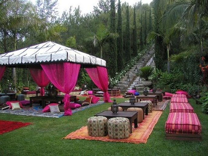 Perfect Backyard Party : Decora??o para casamento Inspira??o Indiana