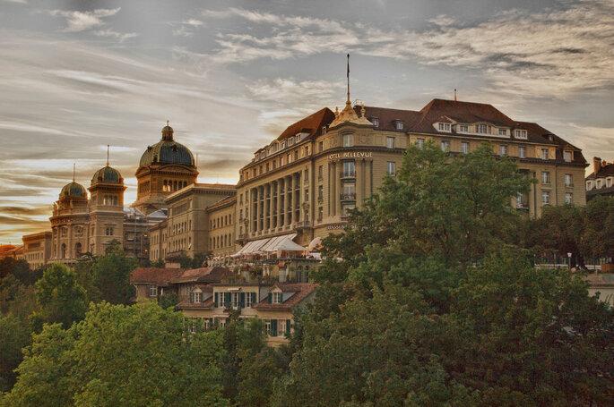 Foto: Bellevue Palace Bern