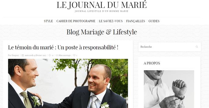 Photo : Le Journal du marié