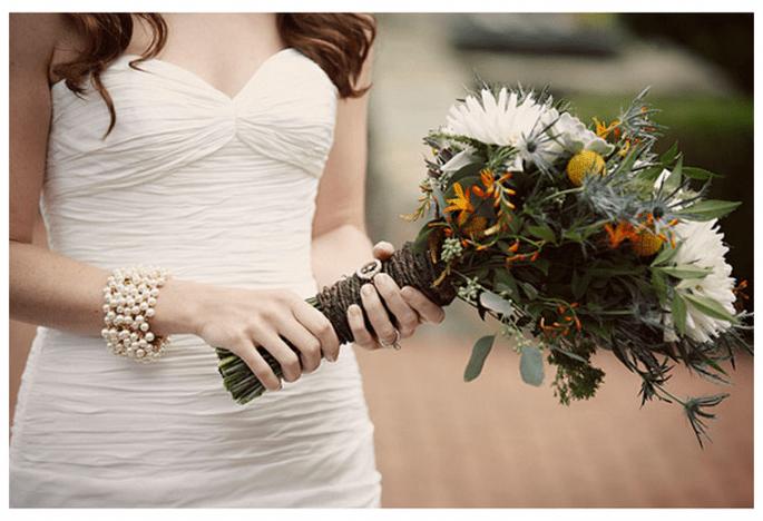 Ramos de novia con diseños inesperados en 2013 - Foto Love Life Images