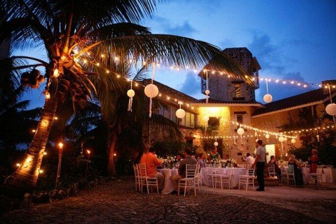 Recuerda tener una foto panorámica del lugar donde se realizó la recepción de tu boda - Foto Samuel Luna