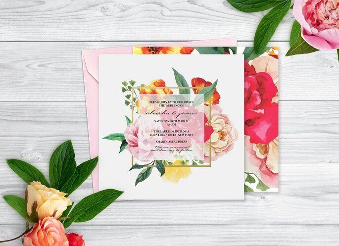 Lovestruck Invitation