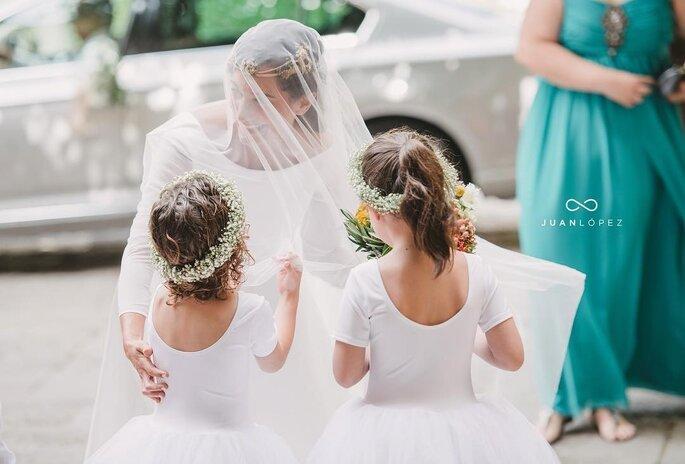 Damitas de honor boda