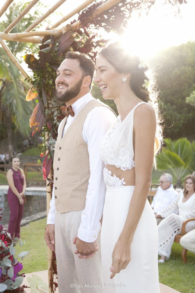 Foto cerimonia de casamento