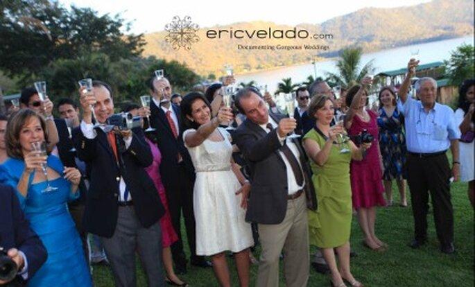 Hochzeitsansprache. Foto: Eric Velado