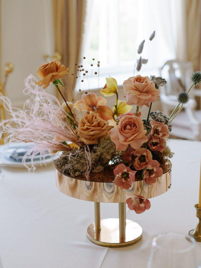 Любите жизнь: яркая и креативная свадьба