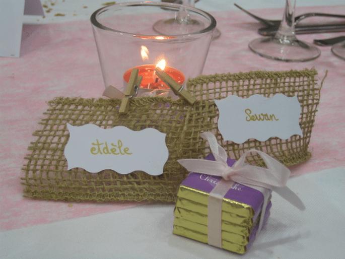 Prénoms, date du mariage, photos : personnalisez vos chocolats ! - Photo : Chocolat de Mariage