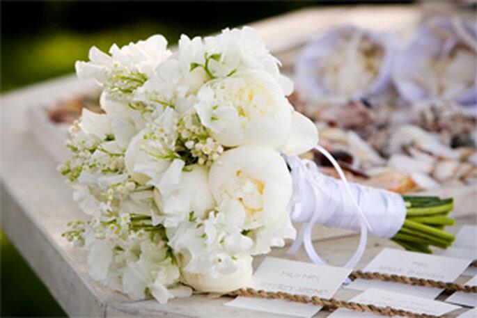 Choisir les fleurs du bouquet de mariée