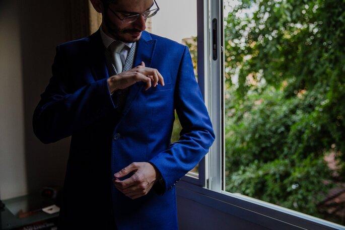 Traje do noivo: Eduardo Guinle - Fotografia: Fernanda Suhett