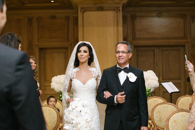 entrada da noiva destination wedding