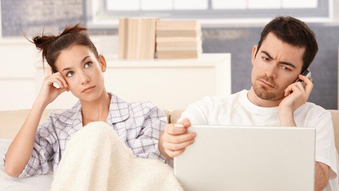 brigas na preparação casamento